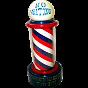SOLD Vintage Barber Pole Music Box