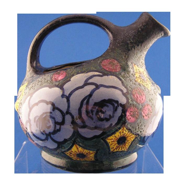 Amphora Arts & Crafts Floral Pitcher (c.1905-1910)