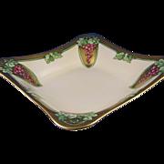 SALE Hutschenreuther Selb Bavaria Art Nouveau Grape Motif Bowl (c.1920-1940)