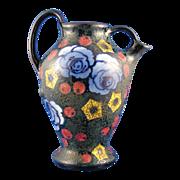 SALE Amphora Austria Arts & Crafts Floral Pitcher (c.1905-1910)