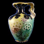 SALE RStK Amphora Austria Art Nouveau Floral Motif Pitcher (c.1899-1910)
