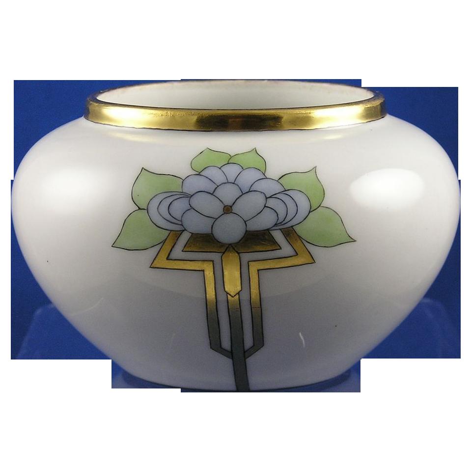 "William Guerin & Co. (WG&Co.) Limoges Arts & Crafts Floral Motif Vase (Signed ""E.A.H.""/Dated 1915)"