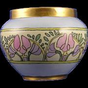 SALE William Guerin & Co. (WG&Co.) Arts & Crafts Floral Motif Vase (c.1900-1932)