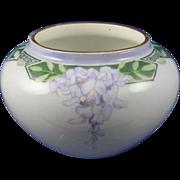 SALE William Guerin & Co. (WG&Co.) Limoges Arts & Crafts Wisteria Motif Vase (c.1900-1932)