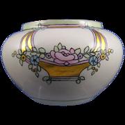 """SALE William Guerin & Co. (WG&Co.) Limoges Arts & Crafts Floral Motif Vase/Cachepot (Signed """""""