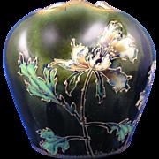 SALE RStK Amphora Austria Floral Design Vase (c.1899-1918)