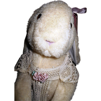 """SALE Vintage """"Wendy Brent"""" Rabbit """"Cherise out of """"Noses of Roses""""  #16/50 LE Hand Signed"""