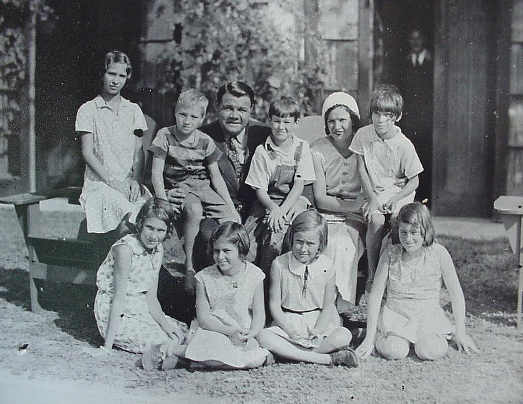 Original 1930's Babe Ruth Group of Photos