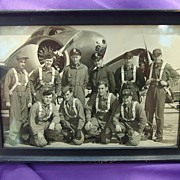 1941 WW2 Reese Airforce Base Pilot Photo 1st Lt Augustus Frank Reese Jr.