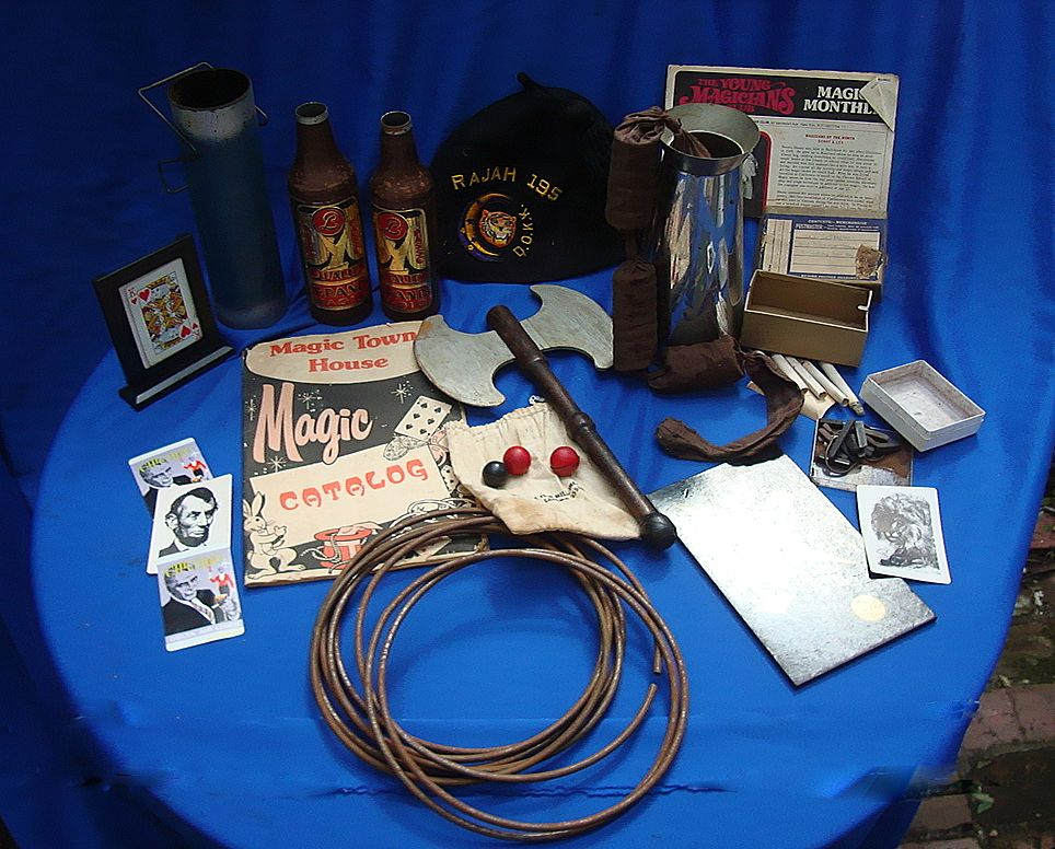 1940's Vintage Magicians Magic Collection