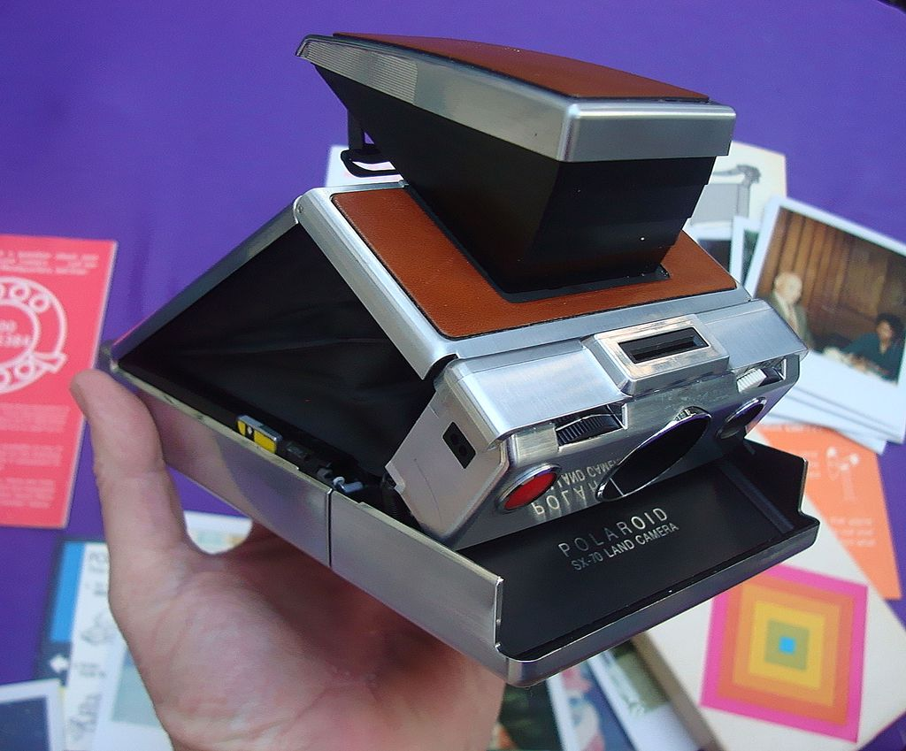 Polaroid SX-70 With Case,Manual and Brochures