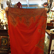 MUSEUM Example Southern Civil War Paisley Shawl