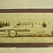 Sir Henry Seagrave Daytona Beach,Florida Sunbeam Racer Photo~1930 Original