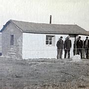 Soddy House Custer County Nebraska Photograph by Solomon D. Butcher