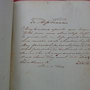 Diary of Francina C.Bryan Buffalo City,North Carolina 1850's