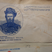 U.S.Grant Hero of Fort Donelson Civil War Patriotic Cover