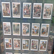 Early Tobacco Cards Cries of London in Frame