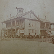 Stereoview of Jacksonville,Florida Colored Negro Stanton School