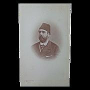 Rare CDV Photograph of Khedive of Egypt by Calamita of Cario
