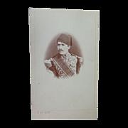 Rare CDV Photograph of Hassan Pasha of Egypt by Calamita of Cario