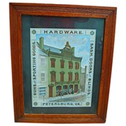 1890's Charles Leonard Hardware Store Petersburg,Va. Advertising Poster