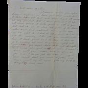 Civil War Letter Edwin Stetson Co.E 23rd Reg. Mass I'm Having My Picture ...
