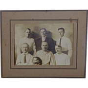 Early Bowling Team Photograph c.1905