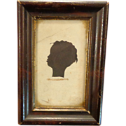 1850's Black Slave Silhouette Valdosta,Georgia