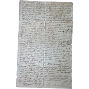 1828 Hardin County,Tn Indenture between James Robinson & Archie B.Davis Jessie Cherry & John .