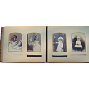 Magnificent Victorian Photo Album of Girls with Dolls, Boys with Guns & Doctors Bar Harbor ...
