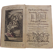 Original 1770 edition of The Universal Magazine of Knowledge and Pleasure
