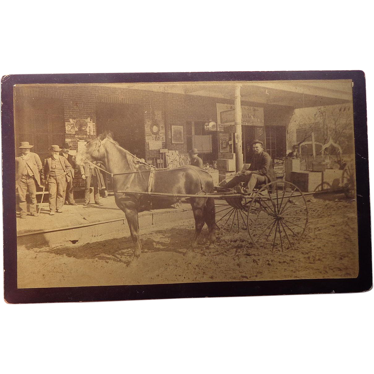 Boudoir Sized Cabinet Photo Of Texas Wells Fargo General Store 1880 39 S
