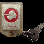 1956 Pontiac Star Chief Key Chain McDaniel Pontiac Cadillac Marion,Ohio