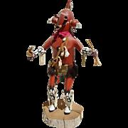 Hopi Mudhead Kachina Doll by Master Carver Raymond Parkett