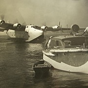 Original Howard Hughes Spruce Goose Honolulu Clipper Photographs