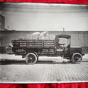 1907 Tree Tea Delivery Truck Photograph Concord,Ca.