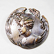 SALE French Mourning Pin THE EAGLET Son of Napoleon Bonaparte and Marie Louise of Austria