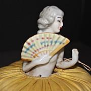 Pincushion Doll, 1920's Japanese Fan Lady
