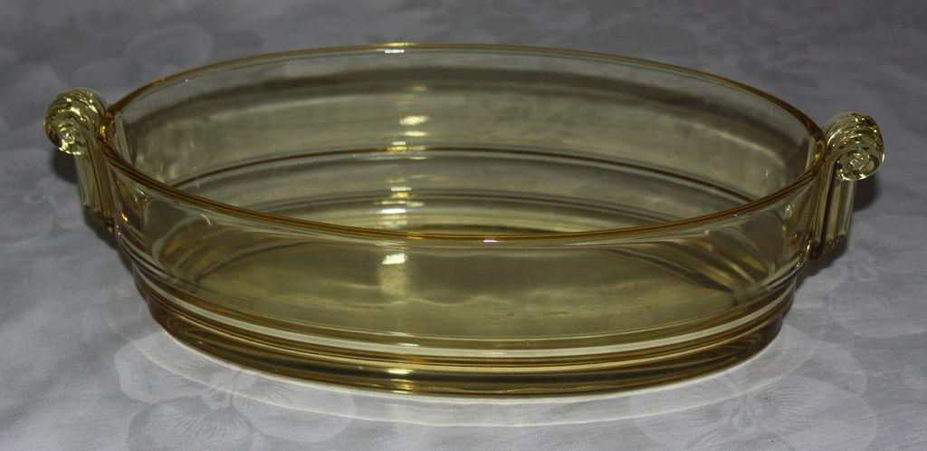 George Sakier #2443 Console Bowl, Fostoria Glass Company