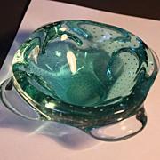 Mid-Century Modern Murano Glass Bowl C. 1950's