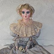 """Restored Keeneye Boudoir Doll a 32"""" beauty"""