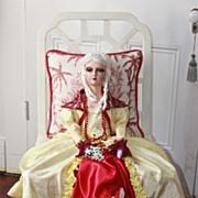 Miss Valentine, A signed W-K-S INC boudoir doll