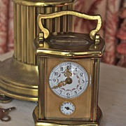 Late 19th Century French Carriage Clock