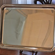 Christofle Silver Plated Cocktail/Tea Tray