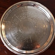Regency Period Sheffield Plate Salver