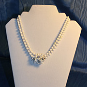 1950's West Germany Double Strand Choker