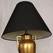 Art Deco Bavarian Porcelain Table Lamp