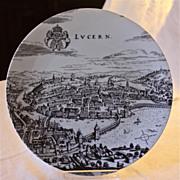 """Altenkunstadt Porcelain Wall Plate """"Lucern"""""""