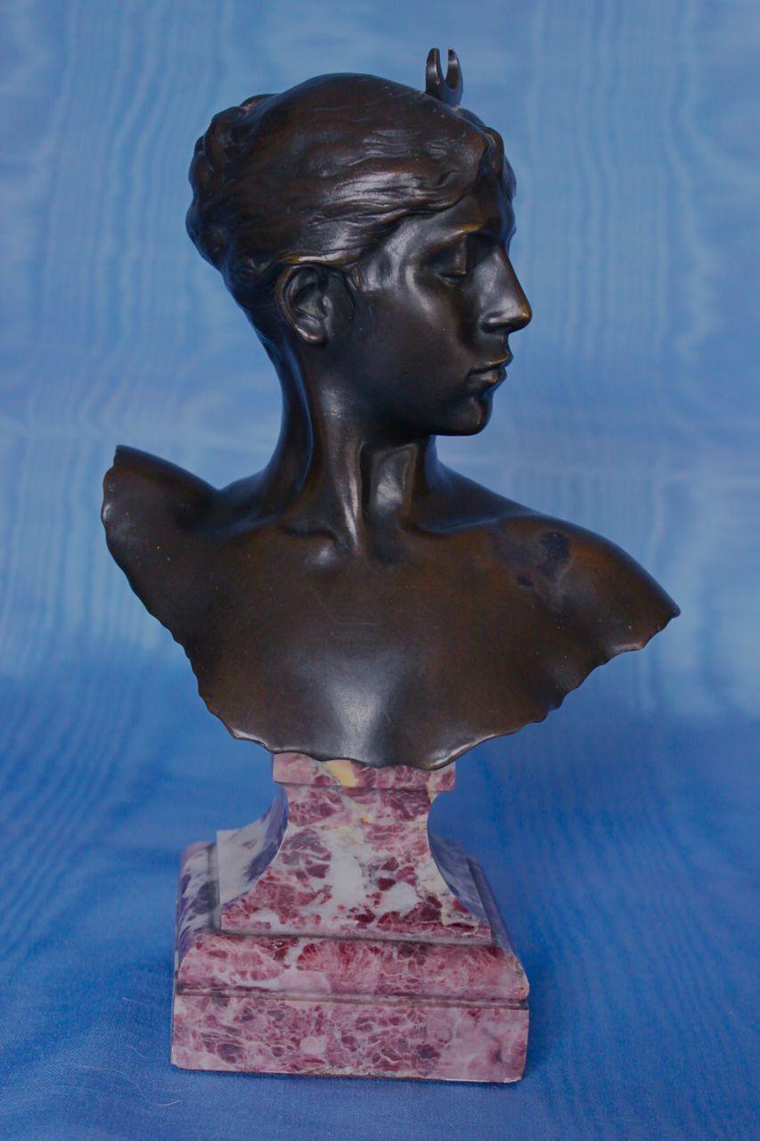 Jean Alexander Falguiere, Bust of Diana