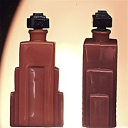 Langlois Duska small Art Deco scent bottle